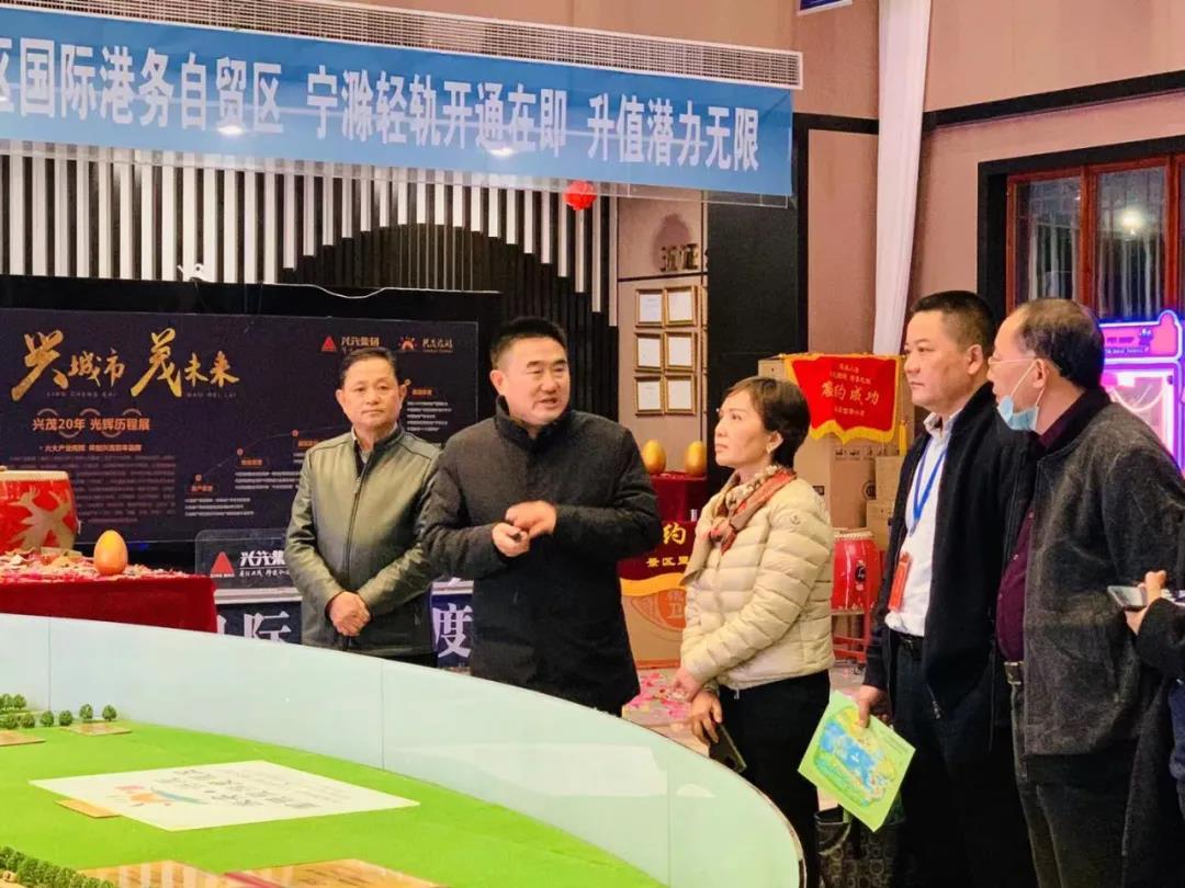 乐天堂fun88手机app市工商联党组副书记张莉一行莅临我会考察调研